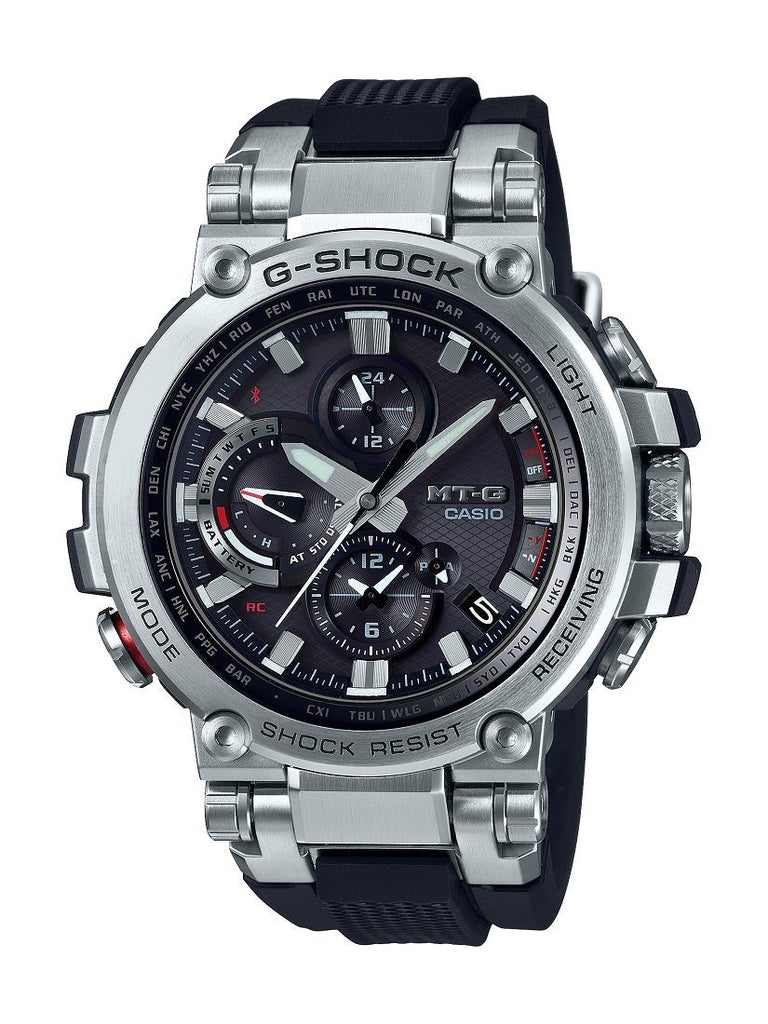 Casio GShock MT-G Smart Phone BT Solar World Time Model MTGB1000-1A Watches Casio