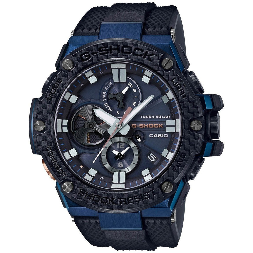 Casio G-Shock G Steel Bluetooth Tough Solar Watch GSTB100XB-2A Watches Casio