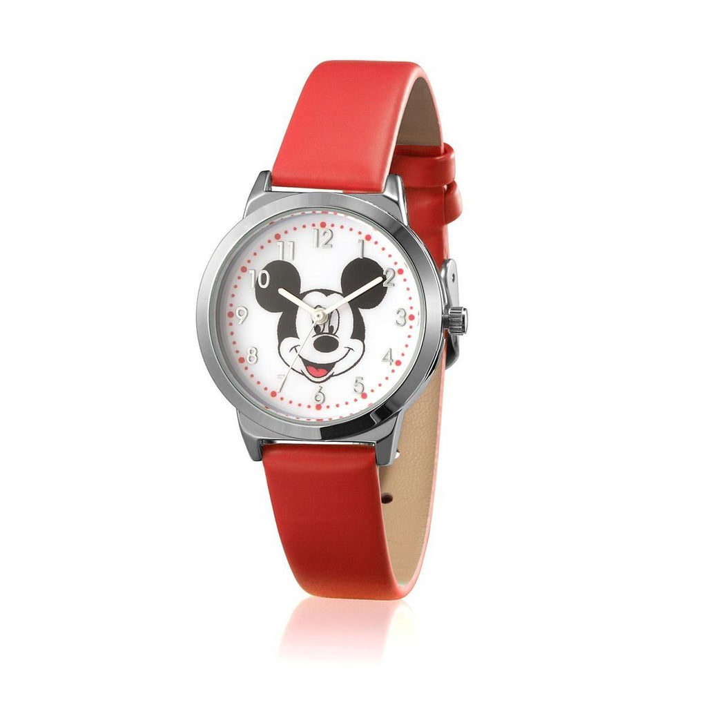 Disney Mickey Mouse Junior Red Watch 29mm Watches Disney by Couture Kingdom