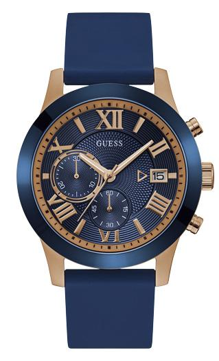 Guess Atlas Men's Chronograph Watch W1055G2 Watches Guess