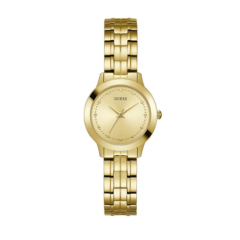 Guess Ladies Chelsea Gold Watch Model W0989L2