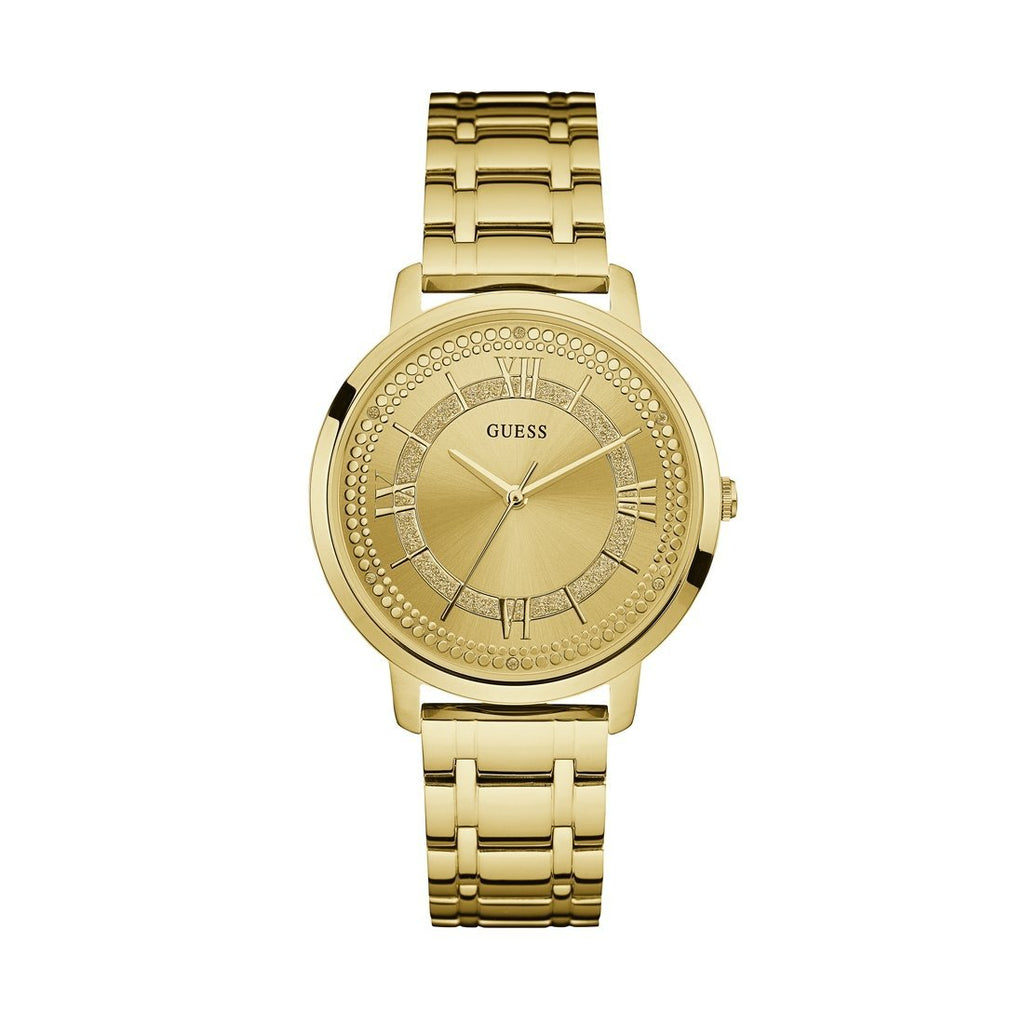 Guess Ladies Montauk Gold Watch Model W0933L2