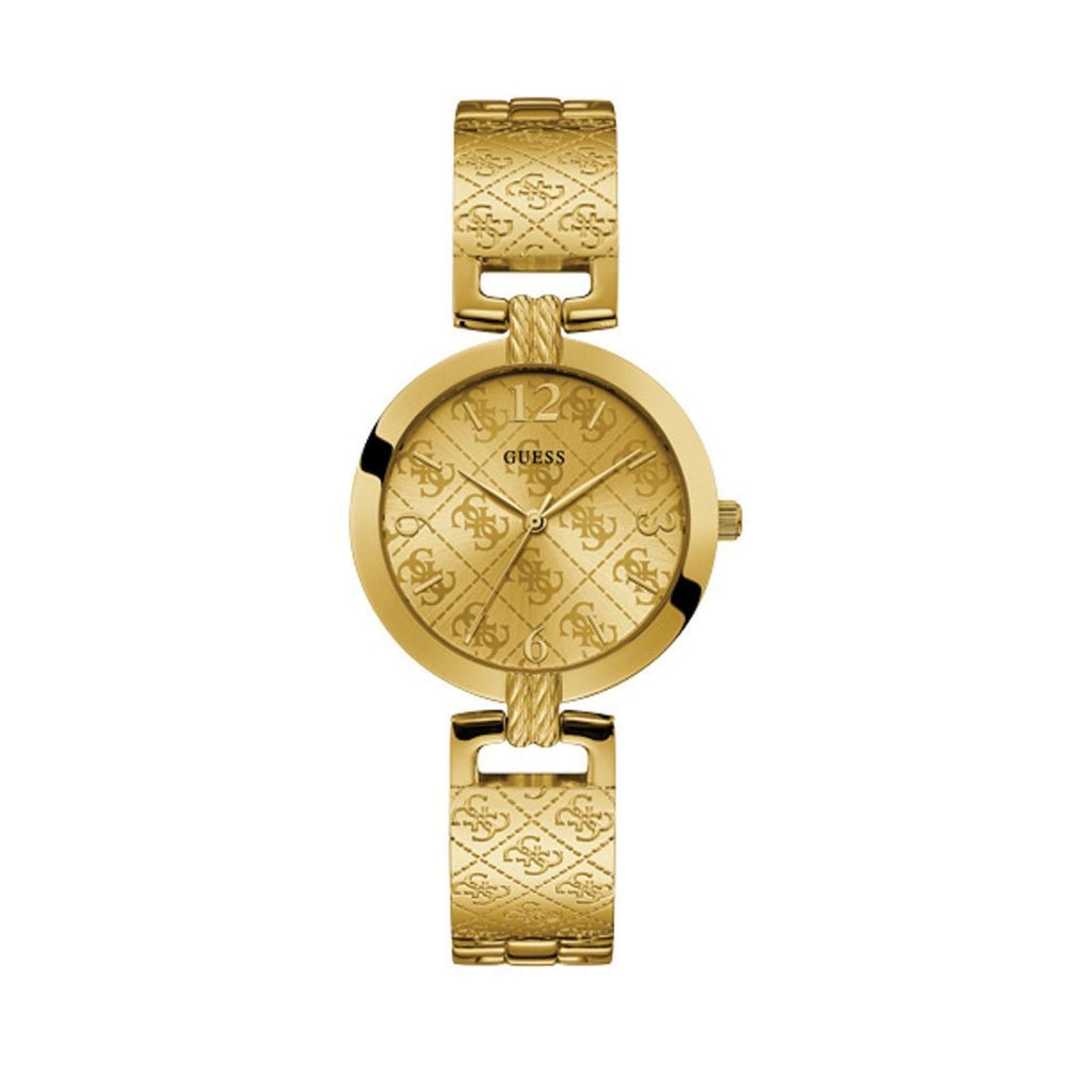 Guess G Luxe Gold Tone Ladies Watch W1228L2