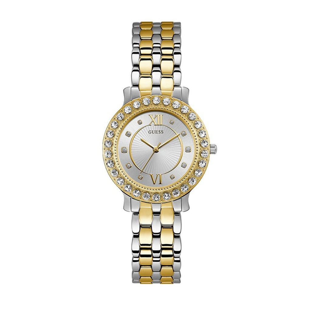 Guess Ladies Crystal Watch W1062L4 Watches Guess