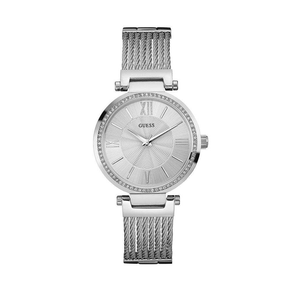 Guess Soho Ladies Silver Watch Model W0638L1