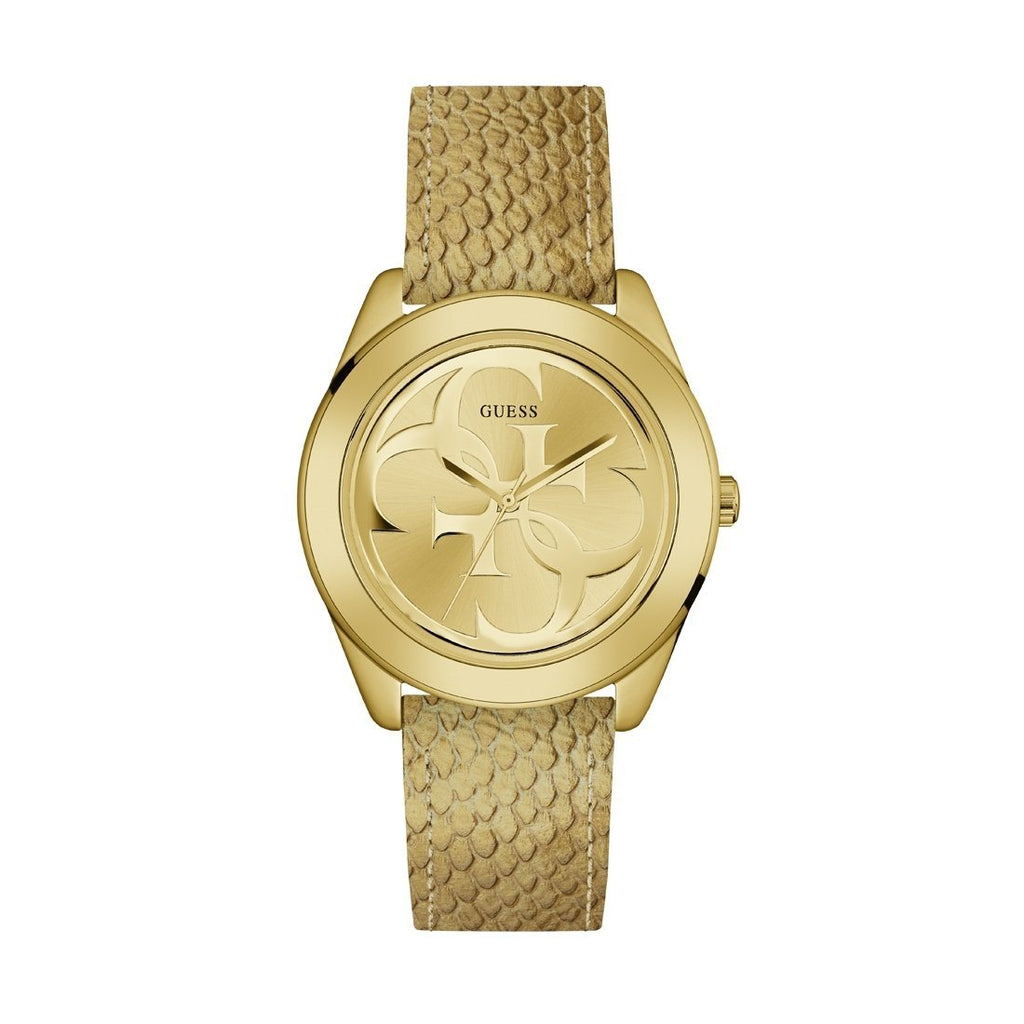 Guess Ladies G Twist Gold Watch Model W0895L8