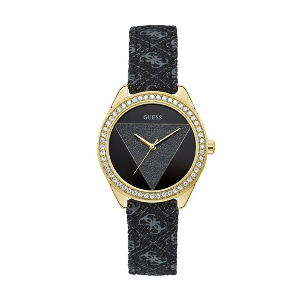 Guess Tri Glitz Stone Set Watch W0884L11