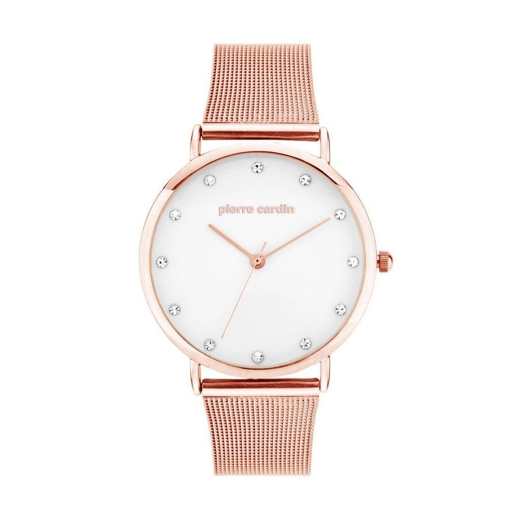 Pierre Cardin Kim Rose Gold Mesh Watch Model 5701