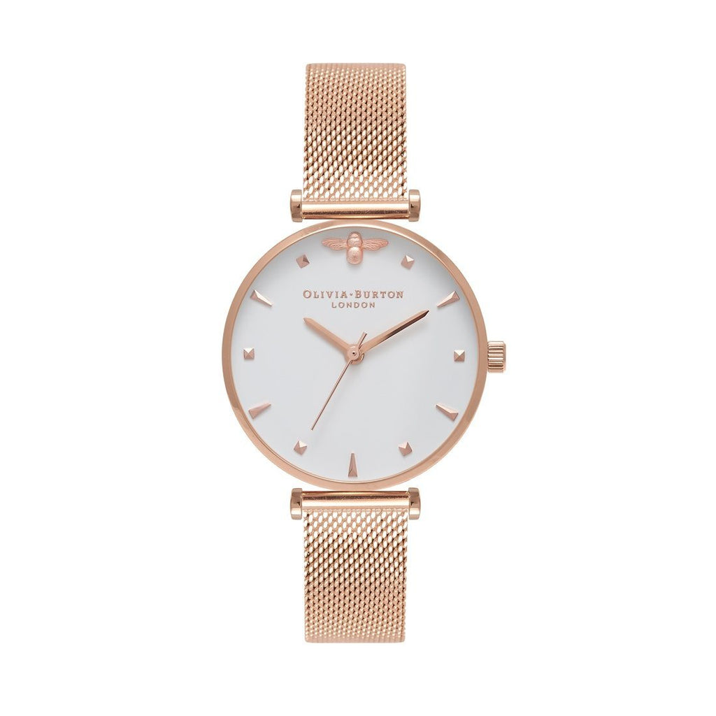 Olivia Burton Queen Bee Rose Gold Watch OB16AM105
