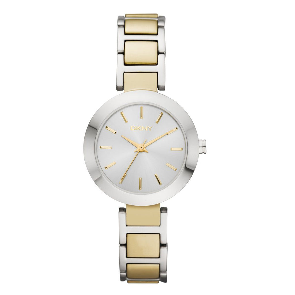 DKNY Ladies Two Tone Watch NY8832 Watches DKNY