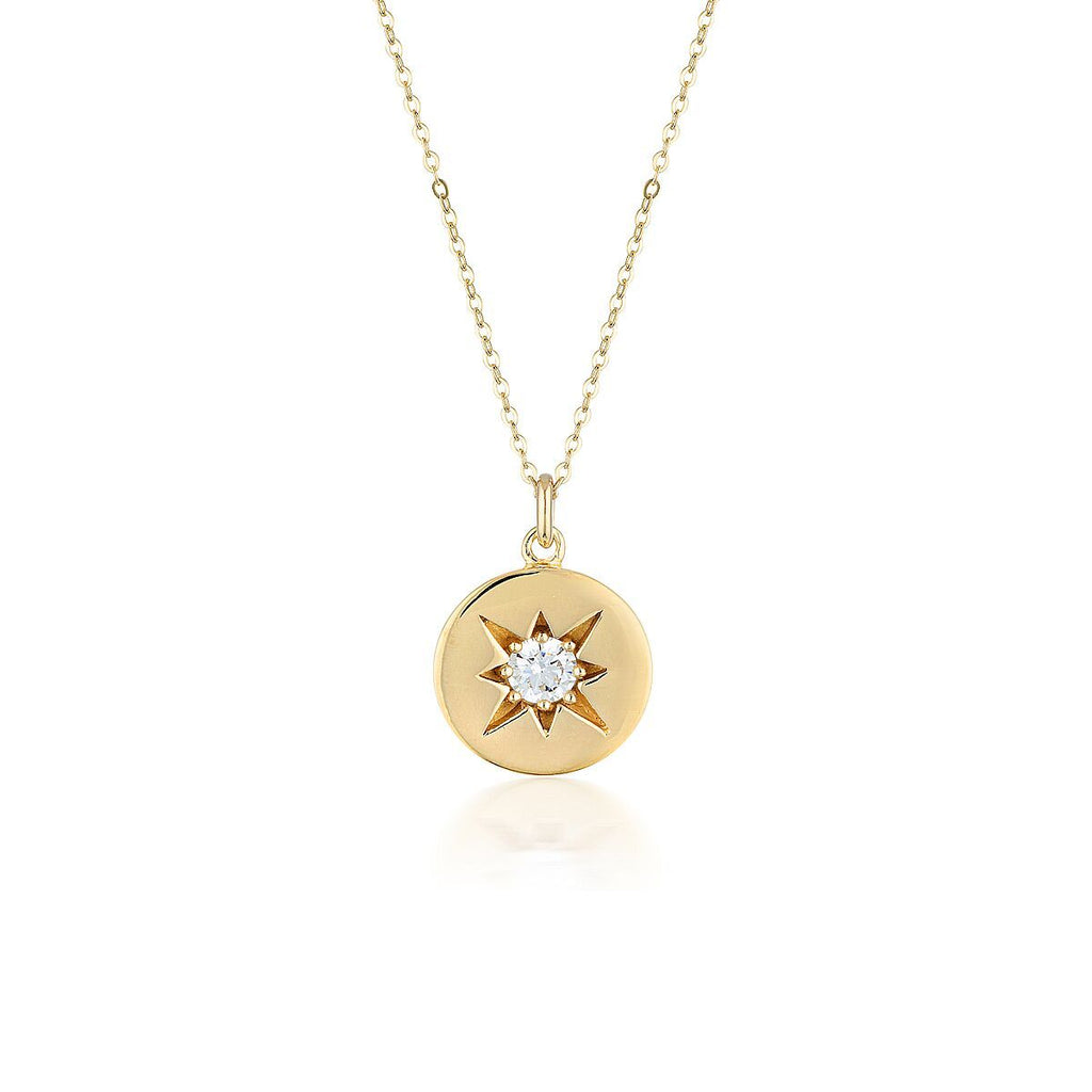 STELLAR LIGHTS GOLD PENDANT Bevilles Jewellers