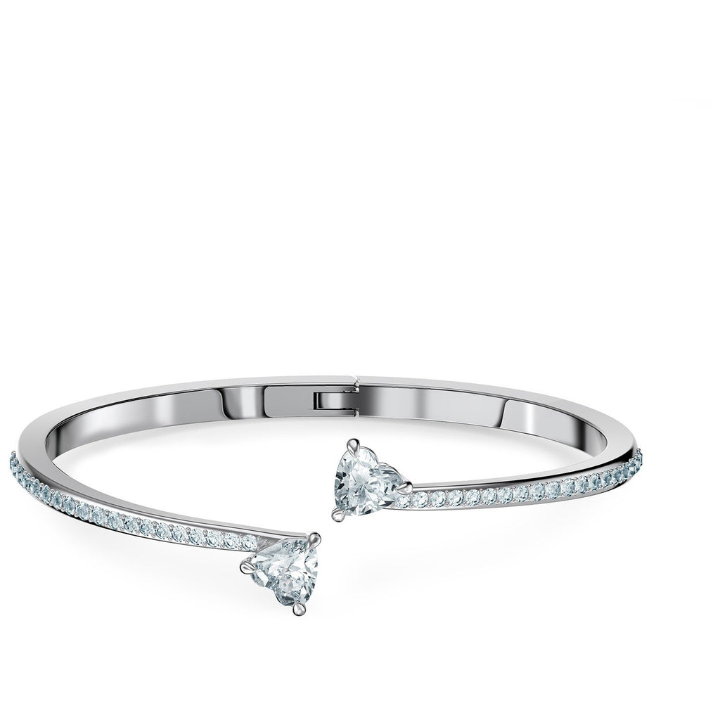Swarovski Attract Soul Bangle with Cubic Zirconia Heart Bracelets Swarovski