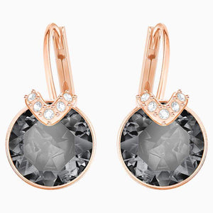 Swarovski Bella V Grey Crystal Earrings