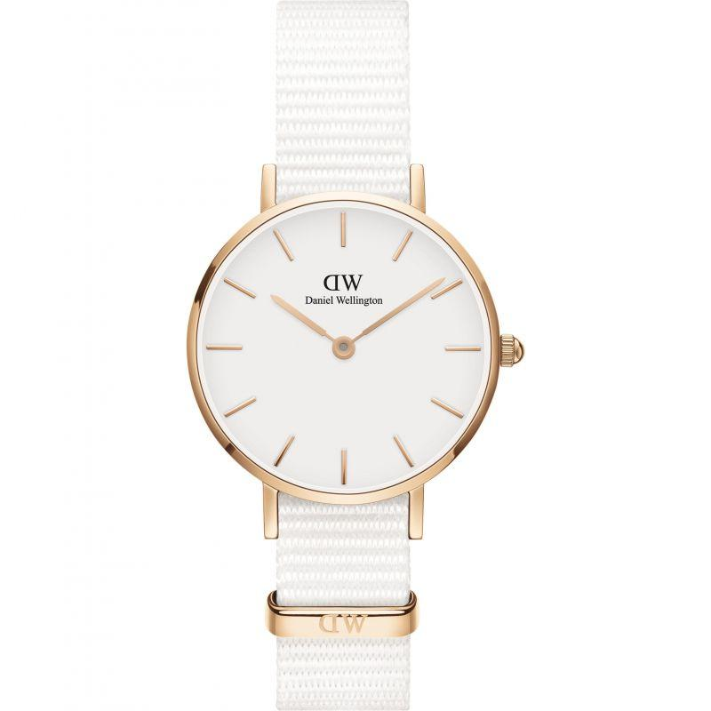 Daniel Wellington Petite Dover 28mm Rose Gold Tone Ladies Watch DW00100313 Watches Daniel Wellington