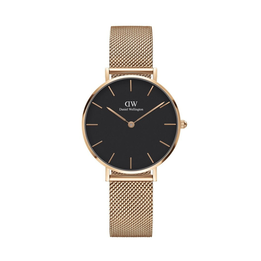 Daniel Wellington Classic Petite Melrose Black Face Watch DW00100161 Watches Daniel Wellington