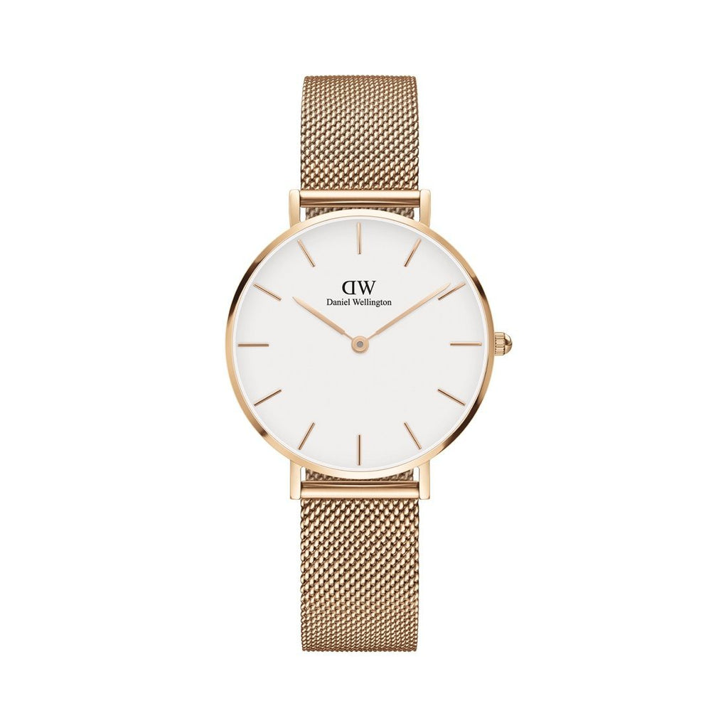 Daniel Wellington Classic Petite Melrose White Face Watch DW00100163 Watches Daniel Wellington