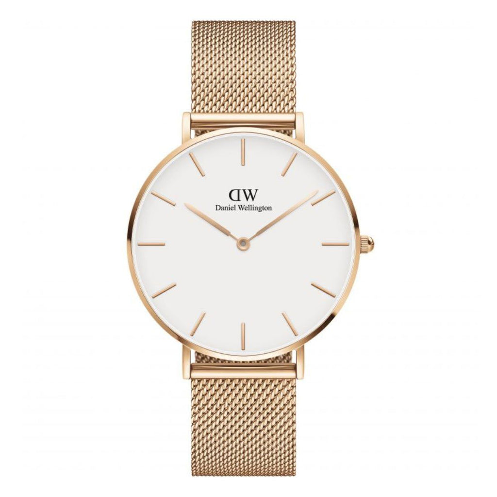 Daniel Wellington Ladies Rose Petite Melrose Watch DW00100305 Watches Daniel Wellington
