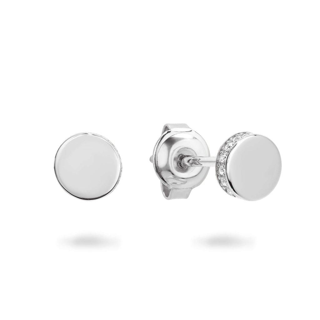MICRO RHODIUM EARRING Bevilles Jewellers