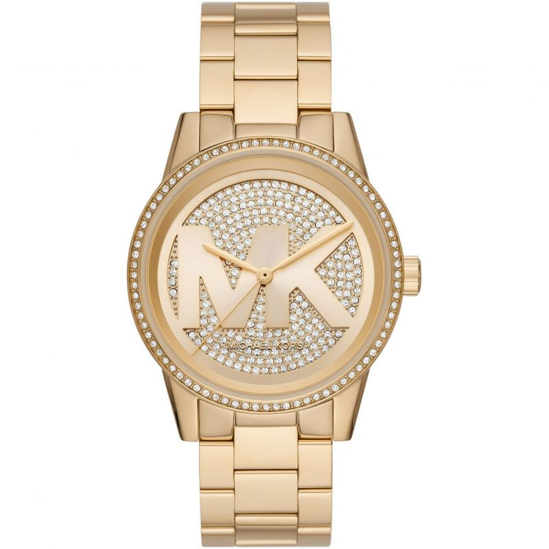 Michael Kors Crystal Gold Watch MK6862 Watches Michael Kors