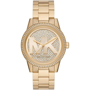 Michael Kors Crystal Gold Watch MK6862
