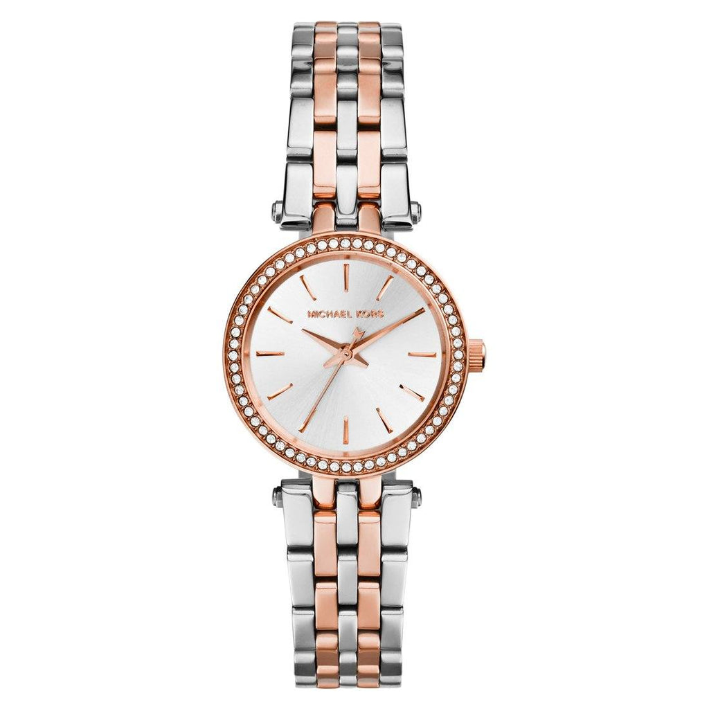 Michael Kors Petite Darci Ladies Rose Watch MK3298 Watches Michael Kors