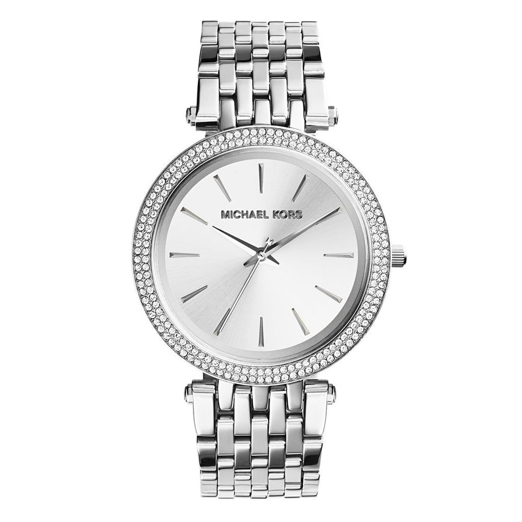 Michael Kors Darci Ladies Silver Watch MK3190 Watches Michael Kors