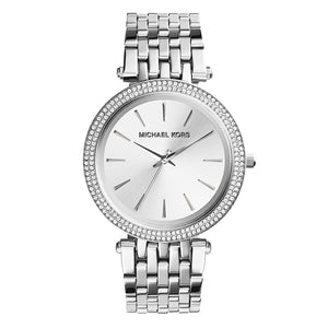 Michael Kors Darci Ladies Silver Watch MK3190