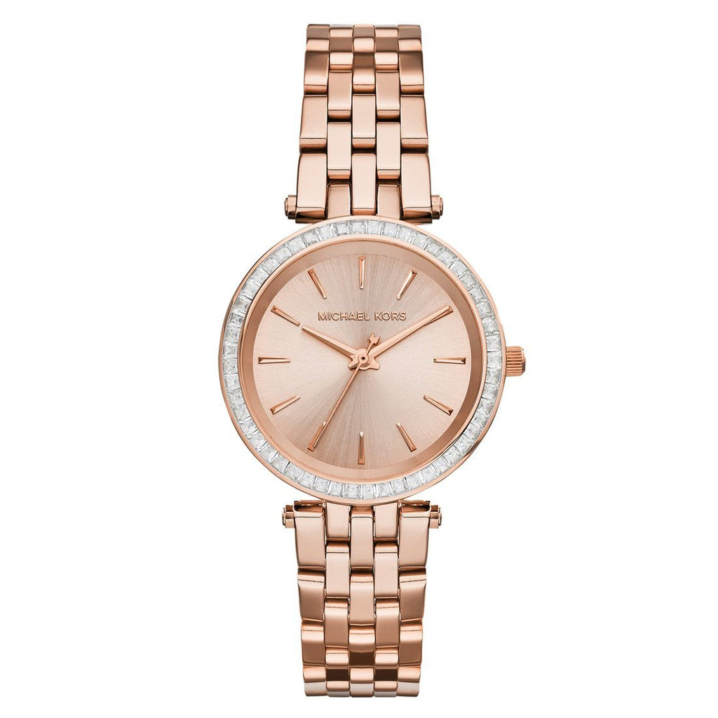 Michael Kors Petite Darci Ladies Rose Gold Watch MK3366 Watches Michael Kors