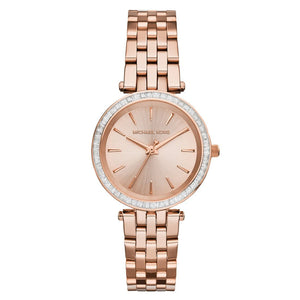 Michael Kors Petite Darci Ladies Rose Gold Watch MK3366