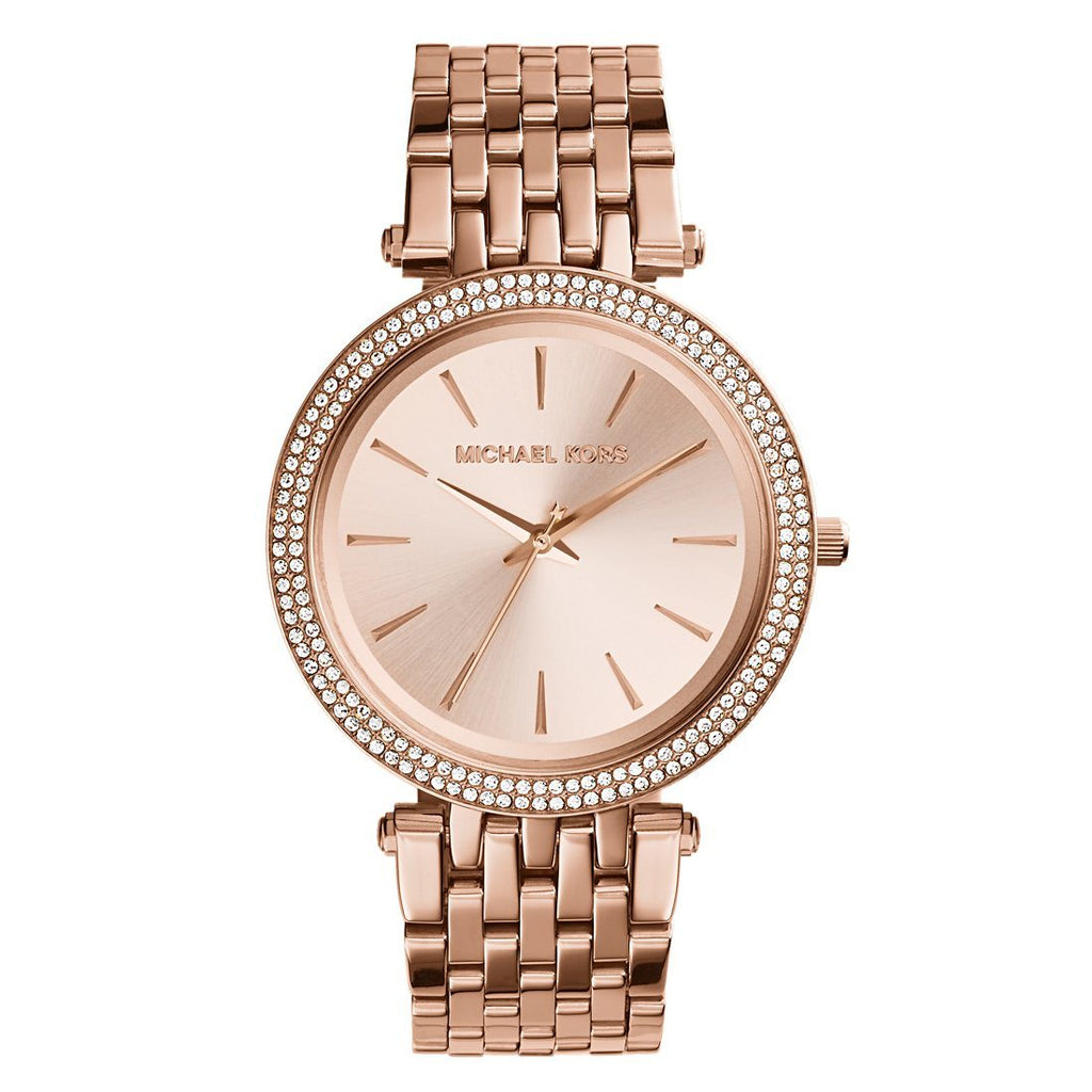 Michael Kors Darci Ladies Rose Gold Watch MK3192 Watches Michael Kors