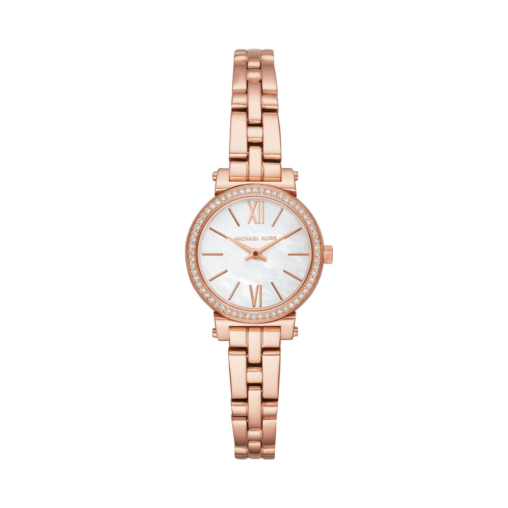 Michael Kors Sofie Rose Gold Stones Set Case Model MK3834 Watches Michael Kors
