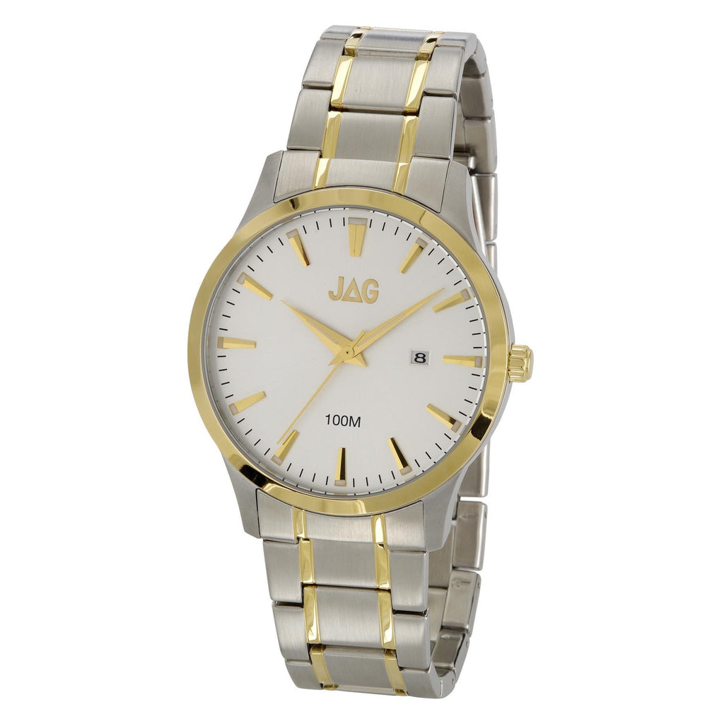 Jag Men's Two Tone Watch Model- J1508A Watches Jag