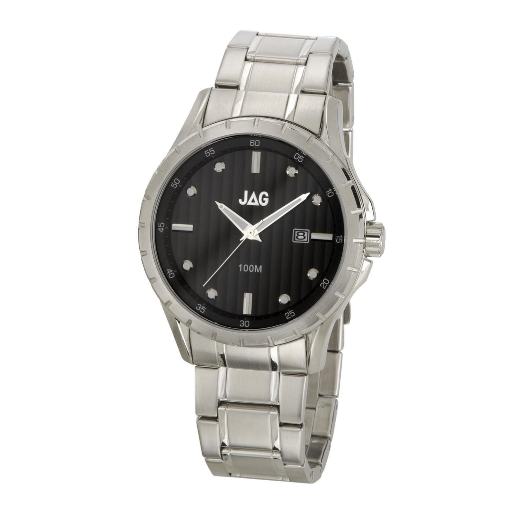 Jag Gents Round Dial Watch- Model J1320A Watches Jag