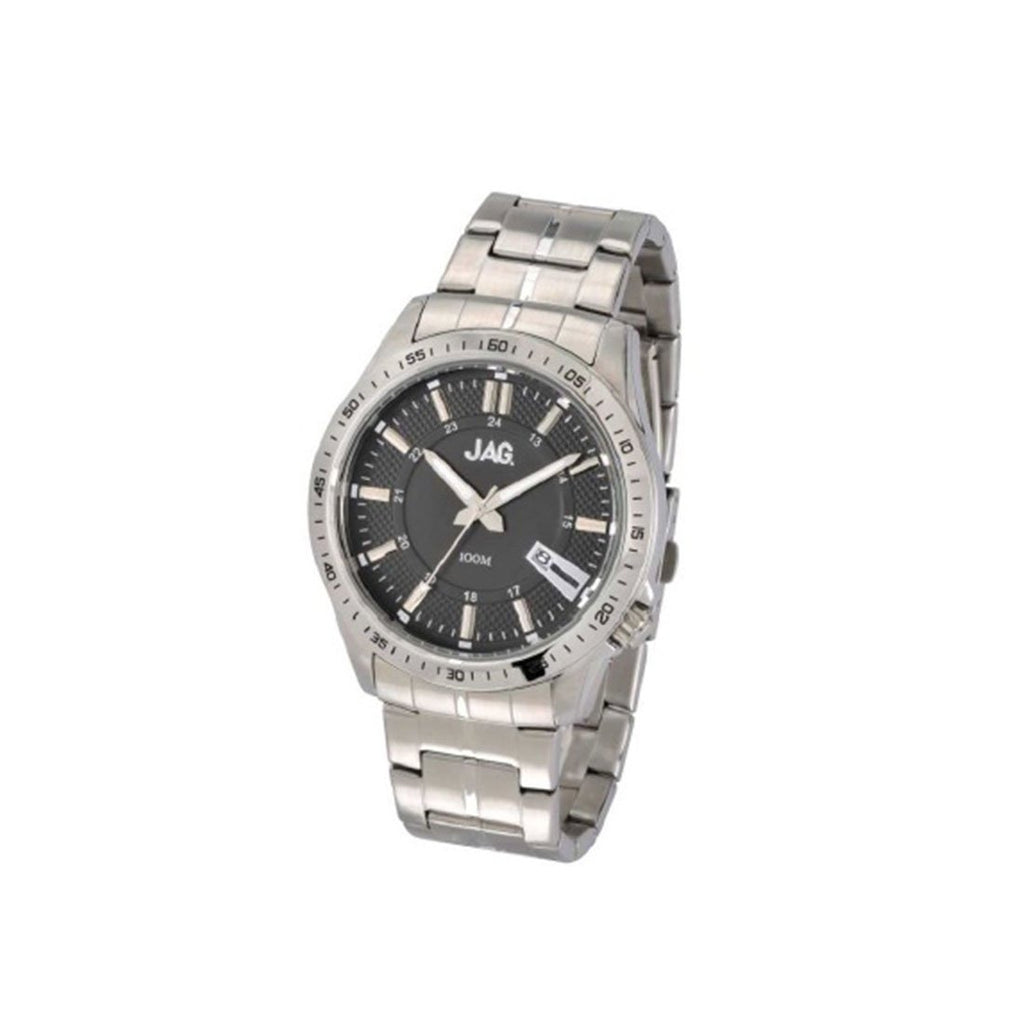 Jag James Gents Silver Date Watch Model-J1826A Watches Jag