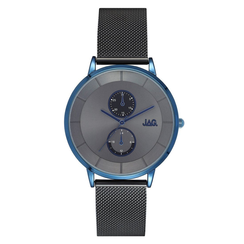JAG Men's Hudson Grey and Blue Watch J2150A