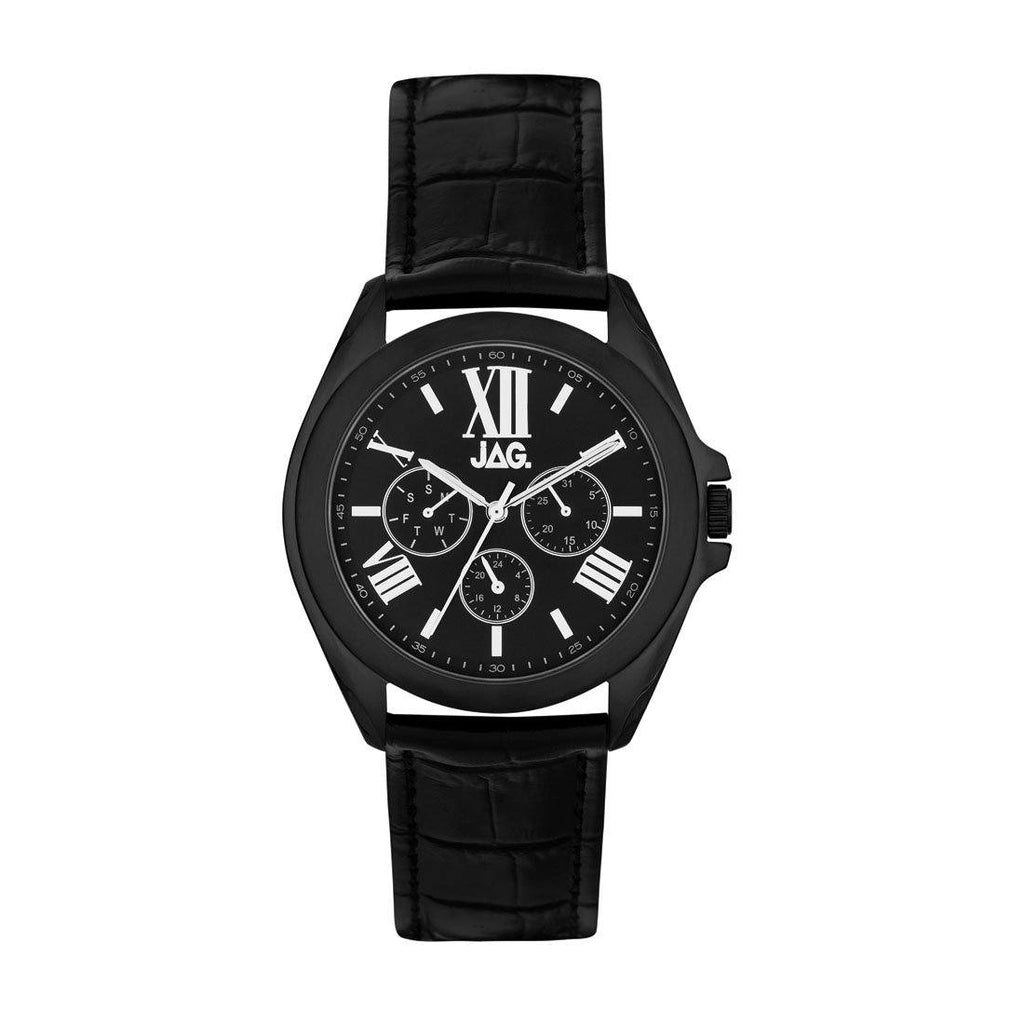 Jag Mens Multifunction Black Watch J2244