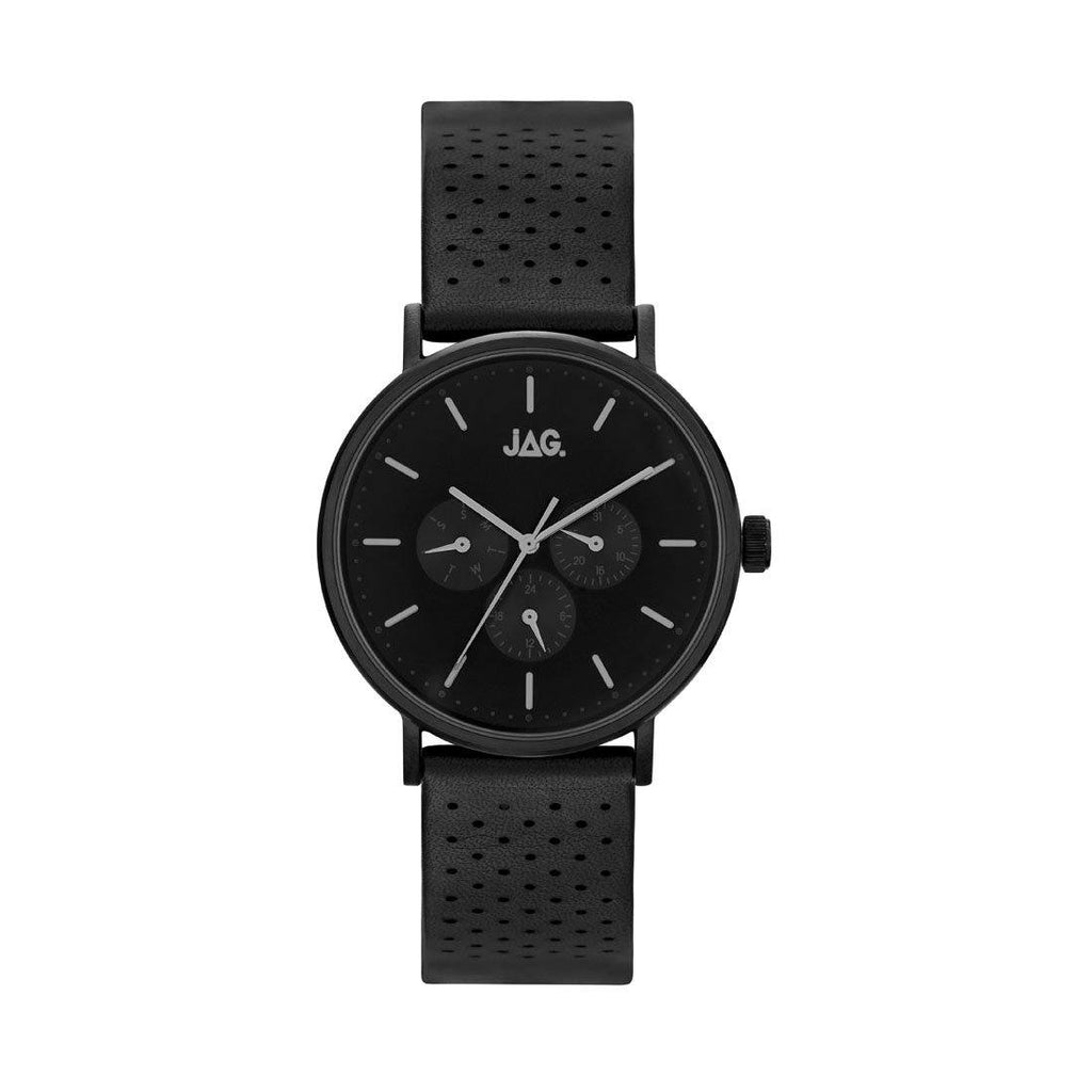 Jag Mens Black Multifunction Watch J2246