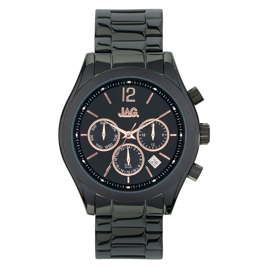 Jag Lisa Black IP Watch J2174A Watches Jag