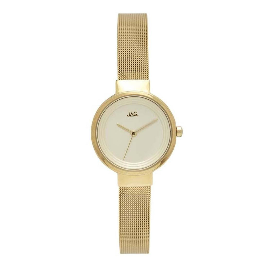 Jag Chloe Gold Mesh Ladies Watch J2084A