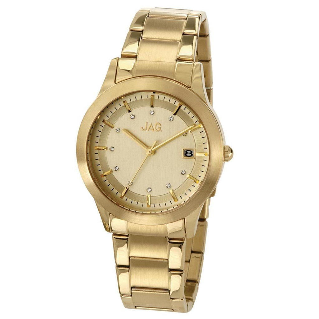 JAG Ladies Gold Watch Model- J1671A Watches Jag