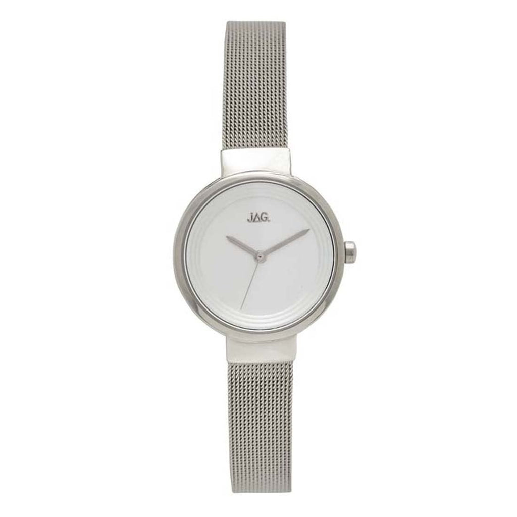 Jag Chloe Ladies Silver Mesh Watch Model J2083A