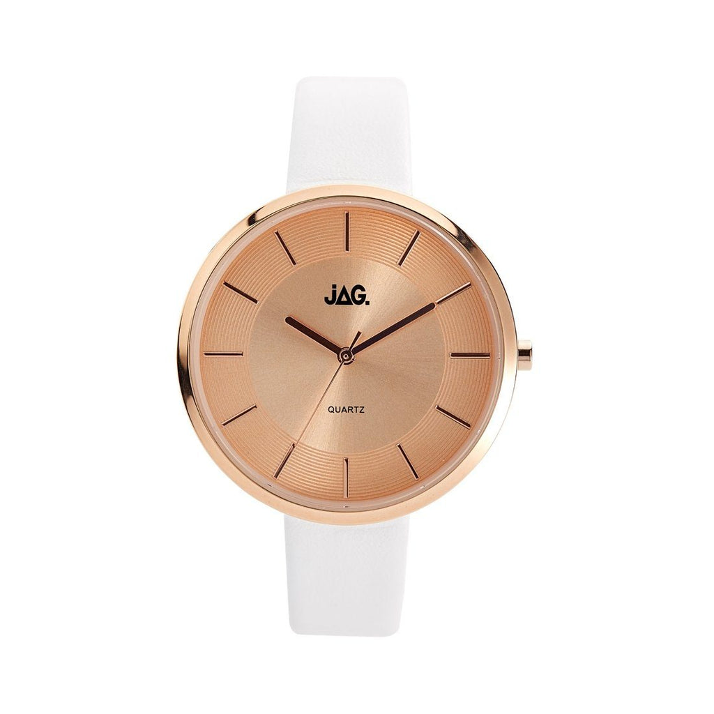 JAG Rose Gold/White Watch J2058