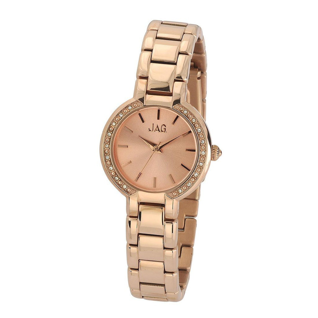 Jag Ladies Rose Gold Watch Model-J1817A Watches Jag