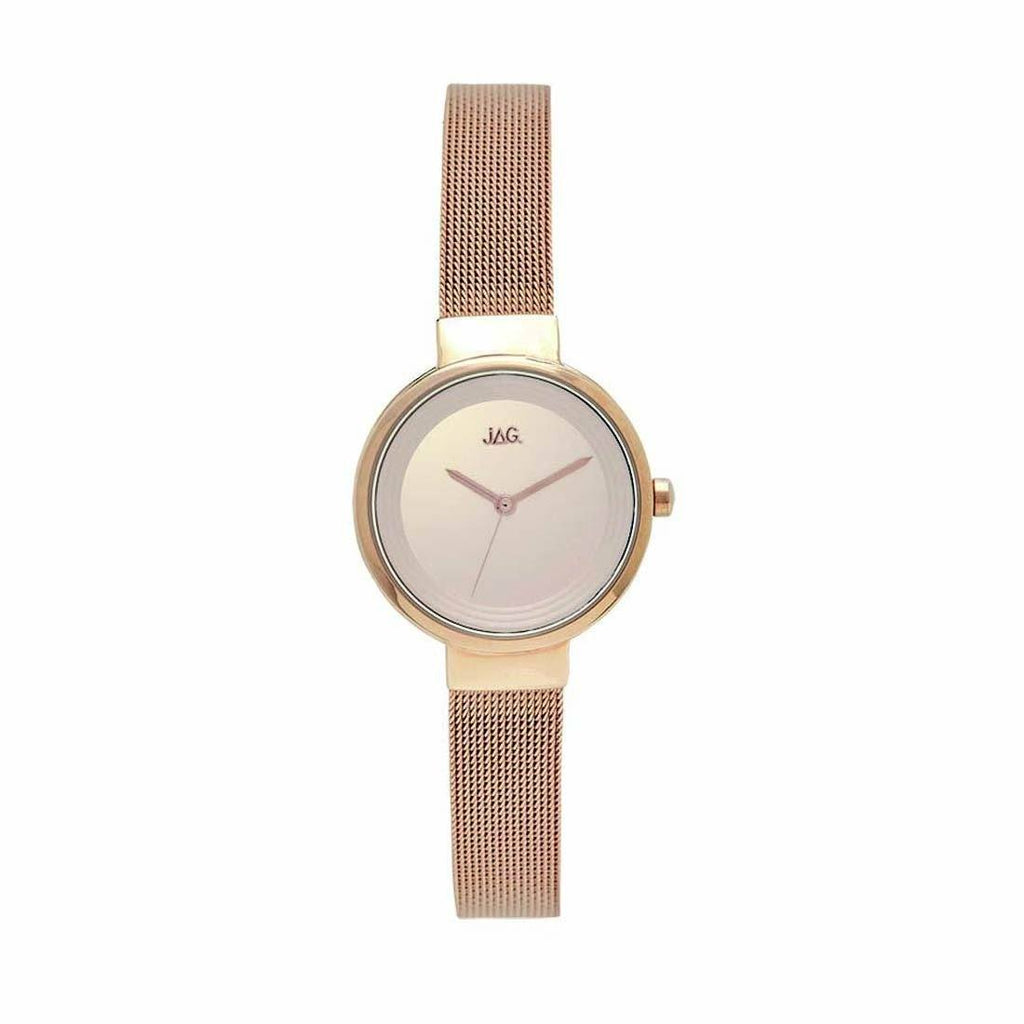 JAG Chloe Ladies Rose Mesh Strap Watch J2085A