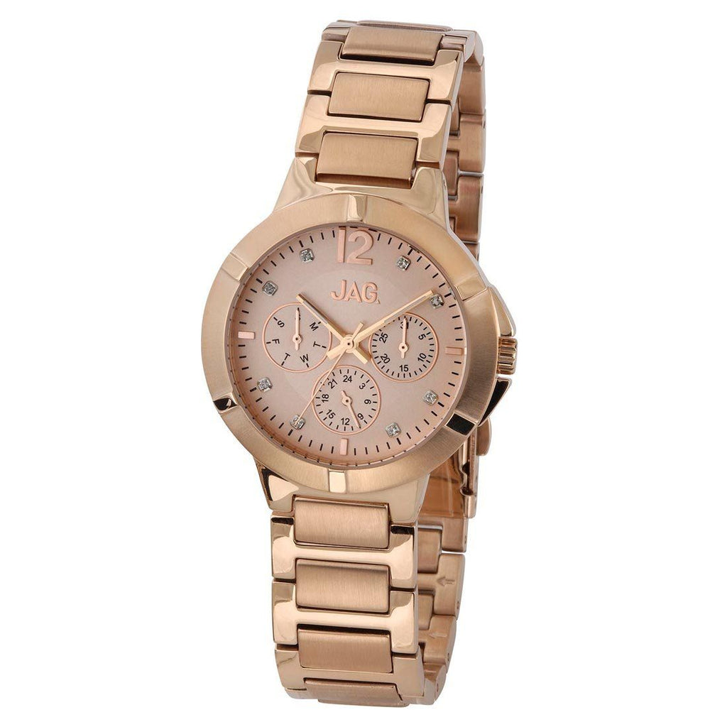 Jad Ladies Rose Gold Watch Model- J1690A Watches Jag