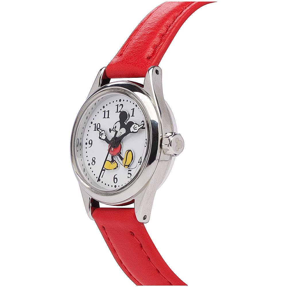 Disney Original Petite Mickey Mouse Red Watch Watches Disney