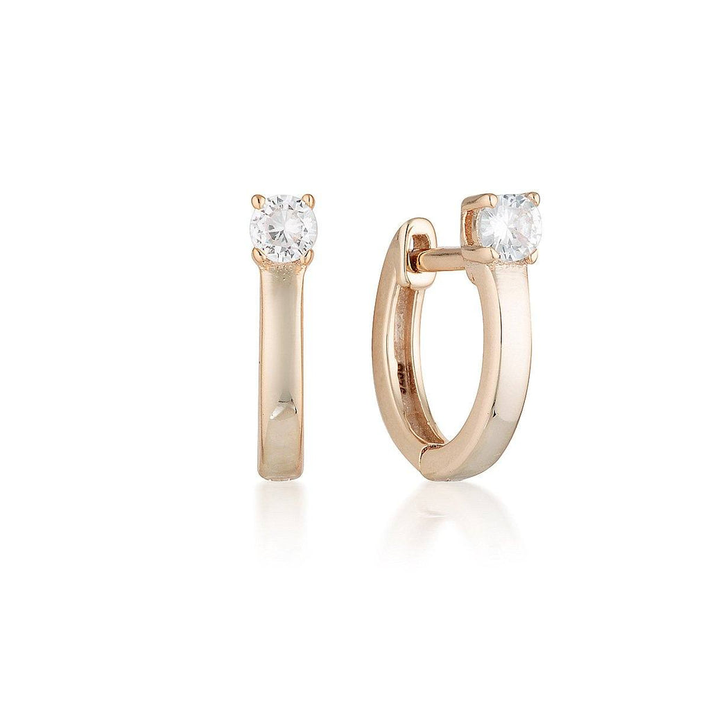 Georgini Rose Gold Mia Hoop Bevilles Jewellers