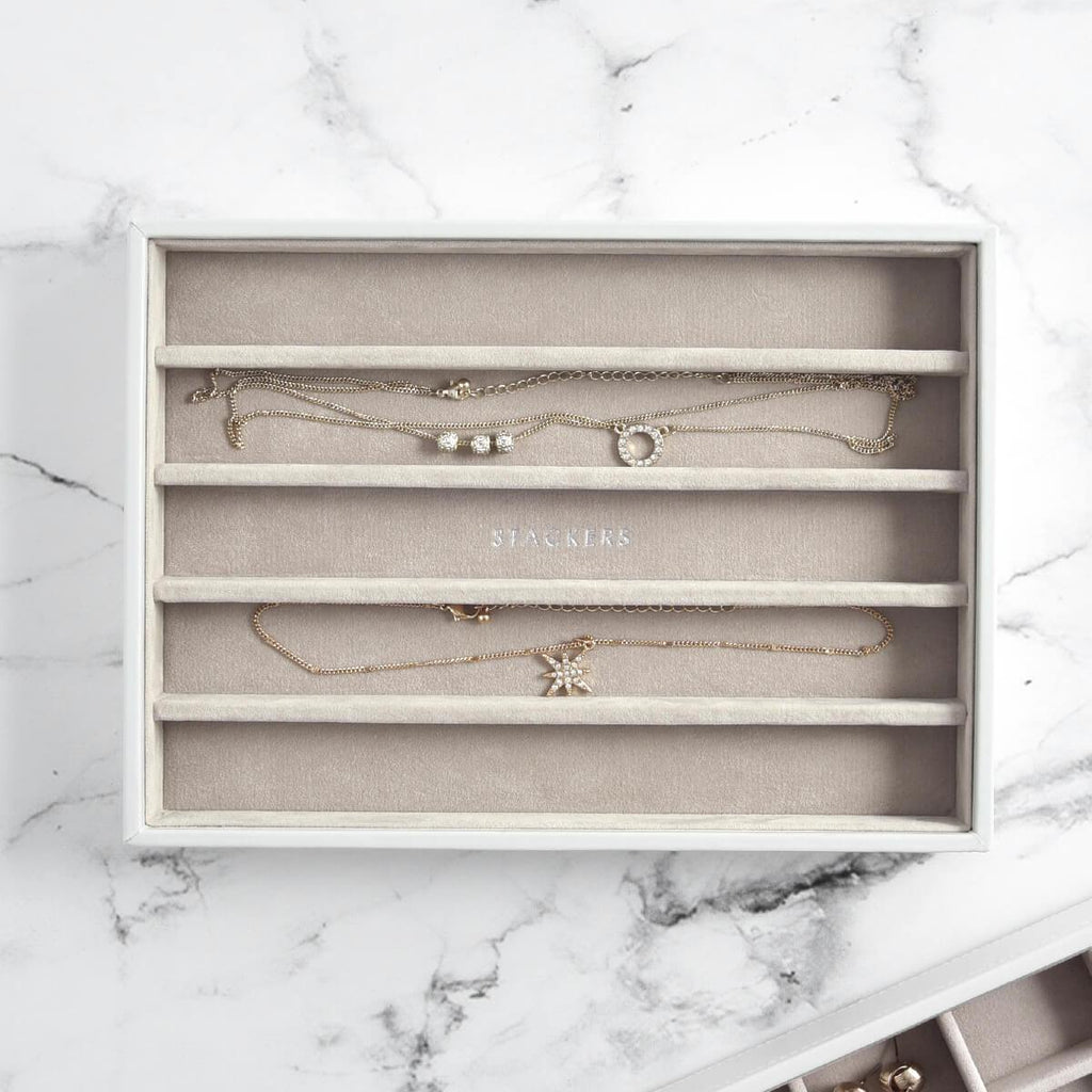 Stackers Classic 5 Compartment Necklace Layer Jewellery Boxes Stackers