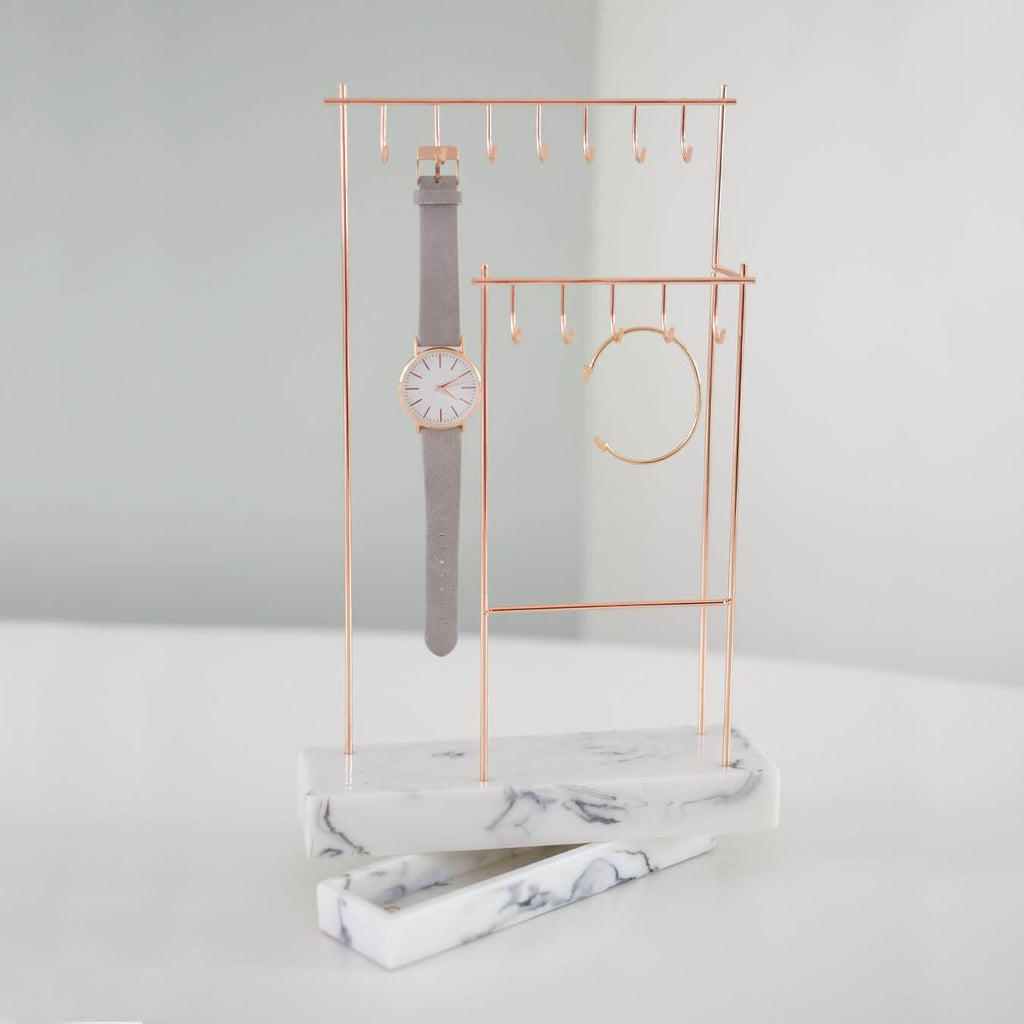 Stackers Double Jewellery Hanger with Removable Base Jewellery Boxes Stackers