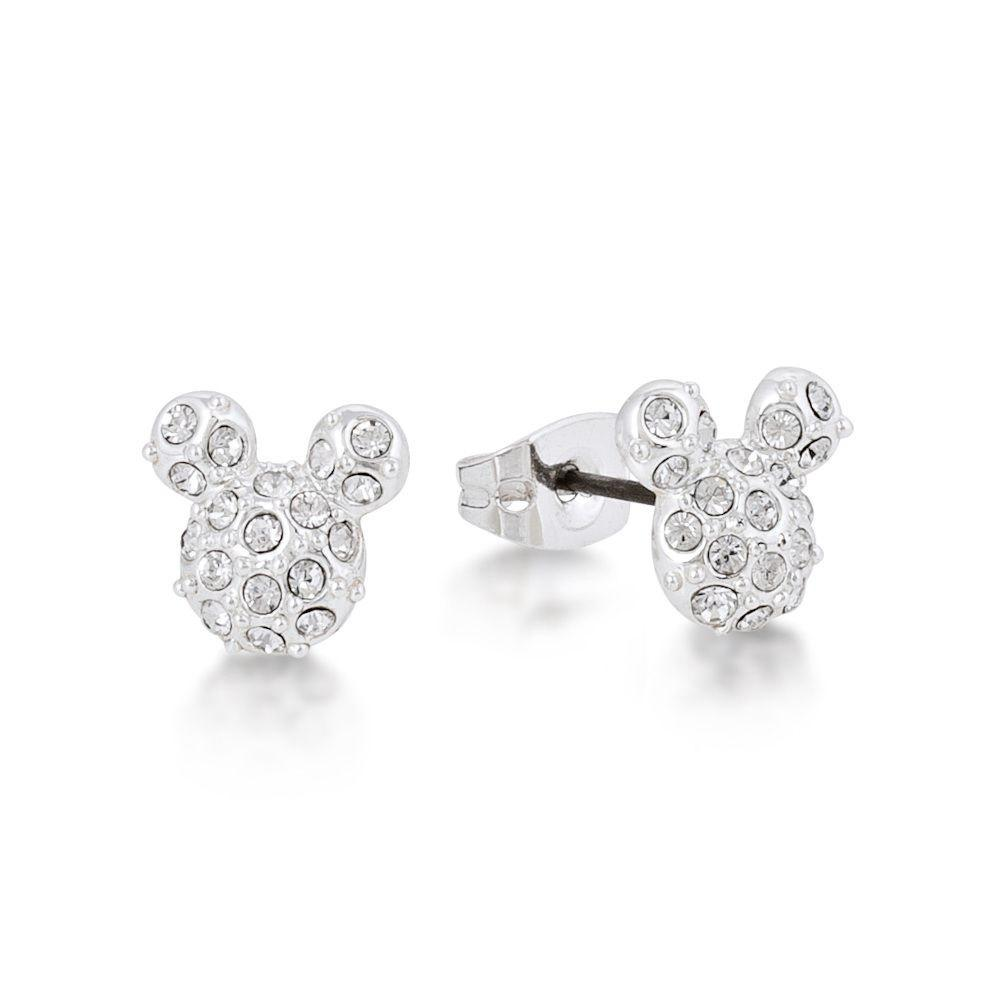 Disney Mickey Mouse Junior Pave Stud Earrings Earrings Disney by Couture Kingdom
